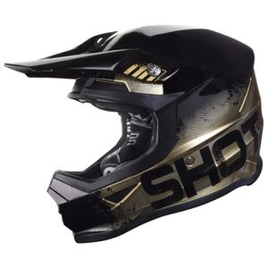 CASQUE MOTO SCOOTER Protections Casques Shot Furious Coalition