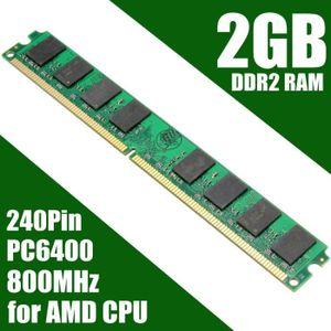 MÉMOIRE RAM NEUFU 2 Go GB Mémoire RAM PC6400 DDR2-800MHz PC2-6