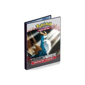 CARTE A COLLECTIONNER Portfolio A5 - Cahier Range Cartes Pokemon : Noir