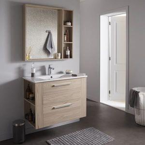 Meuble salle de bain couleur chene - Achat / Vente pas cher