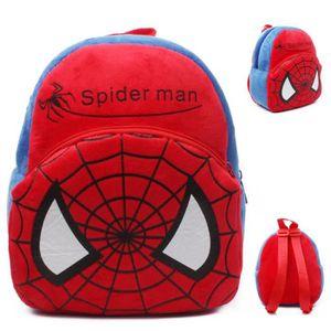 CARTABLE Spiderman Cartoon enfants jouets en peluche sac à