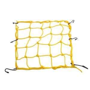 COFFRE DE TOIT Maintenir crochets jaune 6 Câble élastique casque