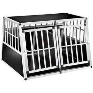 CAISSE DE TRANSPORT TECTAKE Cage de Transport pour Chien Double à Cloi