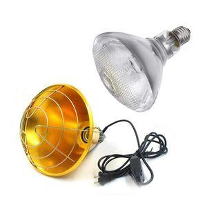 ABAT-JOUR 250W Lampe Chauffant + Abat-jour Contrôle de Tempé