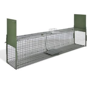 CAGE 150 x 30 x 30 cm Cage piège pour animaux chats chi