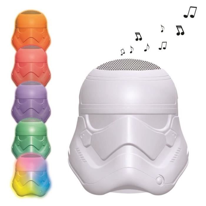 LEXIBOOK - Enceinte Lumineuse Stormtrooper