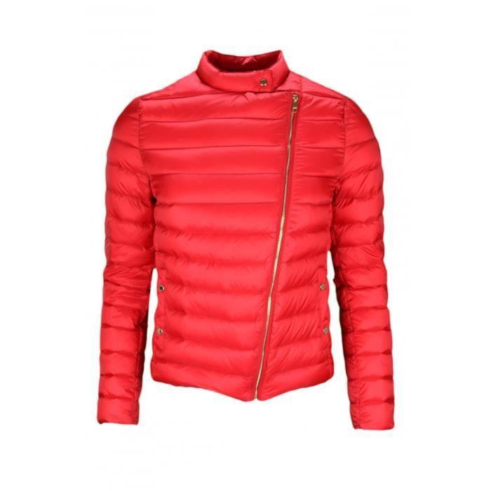 nouvelle collection 33446 4cfba Doudoune fine matelassée Tommy Hilfiger Catherine rouge pour ...