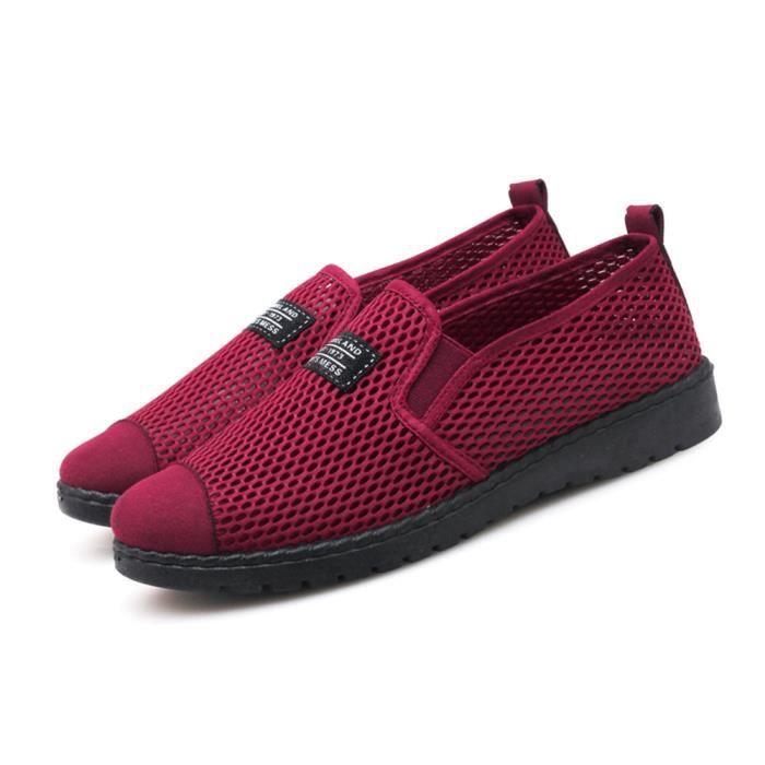 De Confortable Super Chaussures Luxe Antidérapant Respirant Femme Marque LAR354j