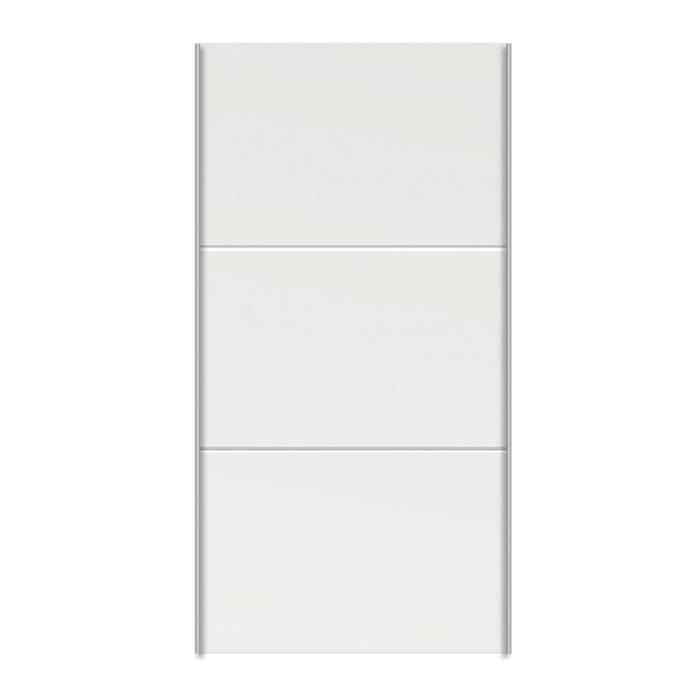 cheap porte coulissante blanc pour caisse de dressing with porte dressing pas cher. Black Bedroom Furniture Sets. Home Design Ideas
