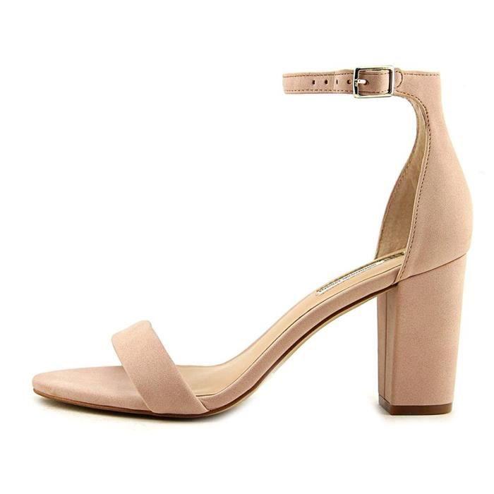 Xue Qiqi Wild High heels girl pointe fine avec boucle métal élégant en satin-lumière liste de,39, rose avec clip