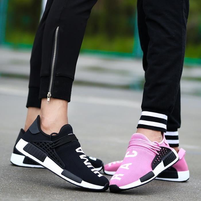 2017 Nouveau Femmes Respirant Chaussures de course léger Chaussures Hommes Sport Chaussures Sneakers chaussures de sport ymmaQJ