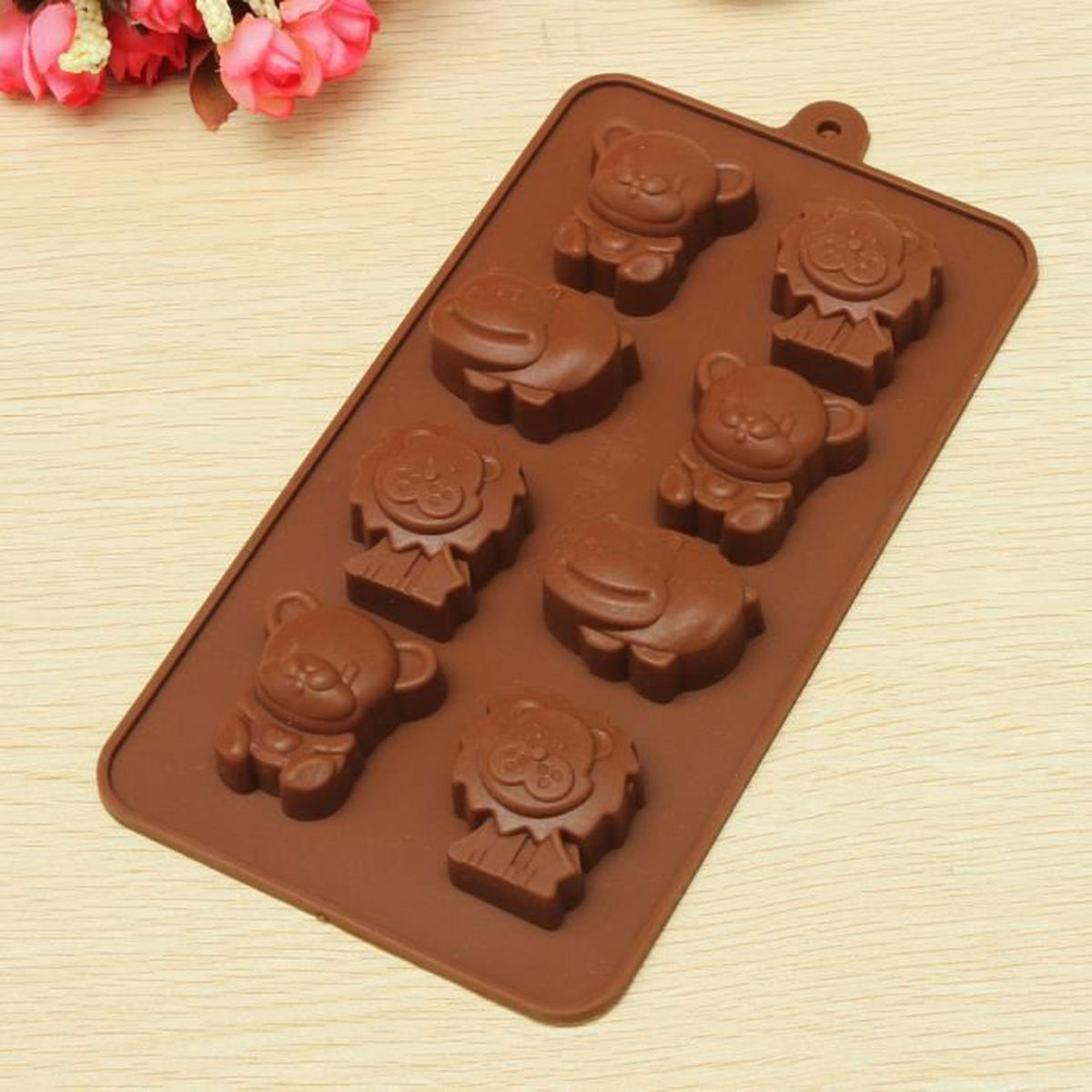 g teau moule silicone animal forme chocolat fondant biscuit emporte pi ce diy achat vente. Black Bedroom Furniture Sets. Home Design Ideas