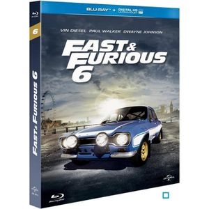 BLU-RAY FILM Blu-Ray Fast and furious 6
