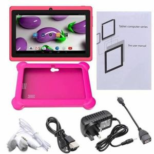 TABLETTE TACTILE Q88 tablette tactile cadeau pour enfant + rose hou