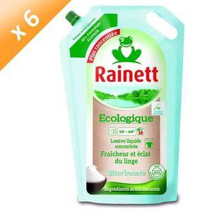 LESSIVE RAINETT Lessives liquides - Au bicarbonate - 1,98