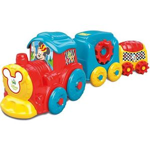 JOUET À TIRER CLEMENTONI Disney Baby  - Train d'activités Mickey