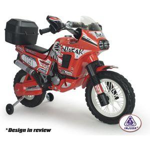 MOTO - SCOOTER Moto électrique enfant Africa Twin 6 volts avec to