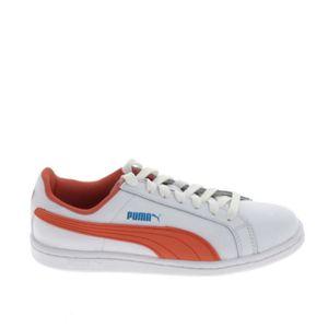 Puma Smash Homme Chaussures De Sport Pour Le Blanc Blanc/blanc - Achat / Vente basket  - Soldes* dès le 27 juin ! Cdiscount