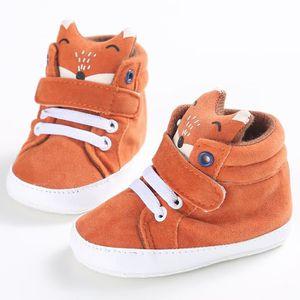 Baby Boys Girls Chaussettes pour tout-petits Chaussures en coton décontracté Chaussures à talons hauts pour animaux Bleu GnI08