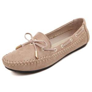 BATEAUX Bateaux boat chaussures femme cuir suédé chaussure