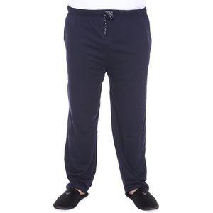 PYJAMA Pantalon de pyjama grande taille Gerd Adamo Bleu M