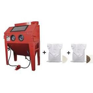 SABLEUSE PACK Cabine de sablage professionnelle 420 L + 2x