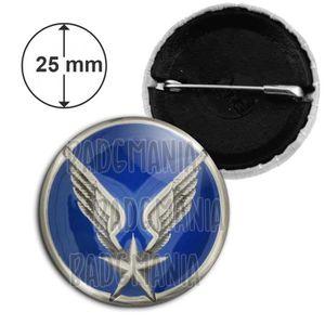 Detective policier détective privé détective privé nouveauté 25mm bouton pin badge