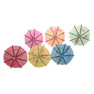 085fb5c1f27c PARAPLUIE 72 pieces colorees Parapluies Parasols de Cocktail