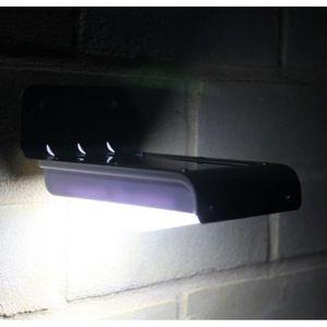 APPLIQUE EXTÉRIEURE 16 LED Lampe Solaire Eclairage Lumière Extérieur J