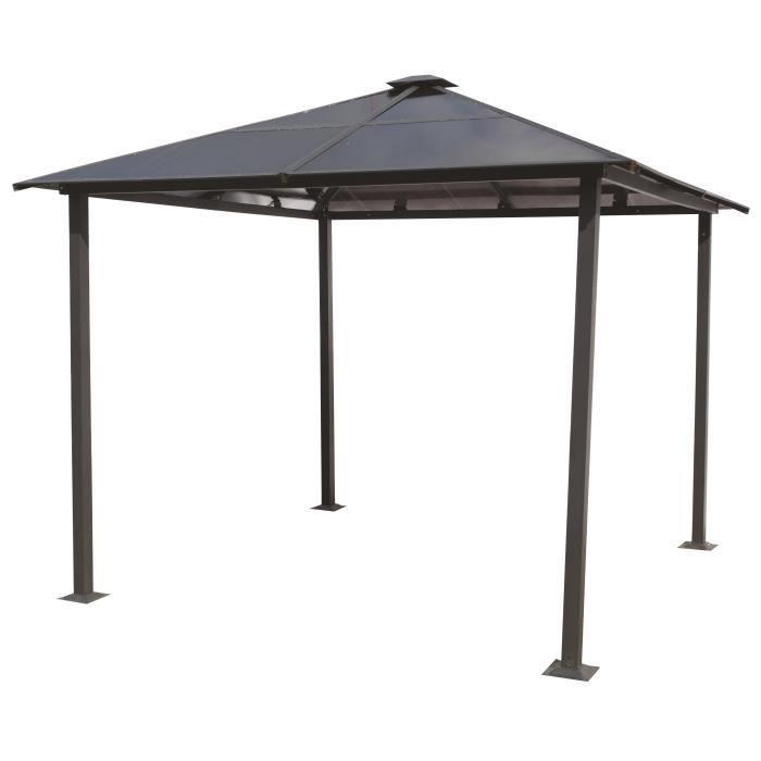 pergola avec toit en polycarbonate achat vente pas cher. Black Bedroom Furniture Sets. Home Design Ideas