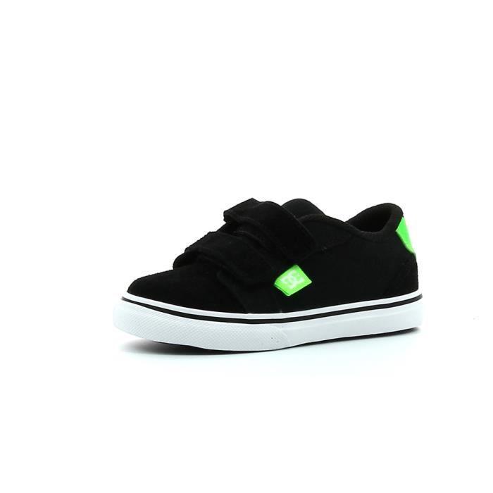 4ec12862c332f Chaussures de skate DC shoes Anvil V Noir - Achat   Vente basket ...