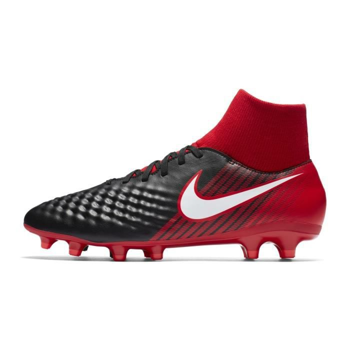 Df Chaussures Rouge Pas Prix Ii Onda Magista Fg Nike Football Noir OFHyF67