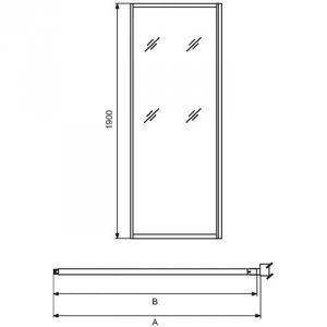 paroi de douche 100 cm achat vente paroi de douche 100 cm pas cher cdiscount. Black Bedroom Furniture Sets. Home Design Ideas