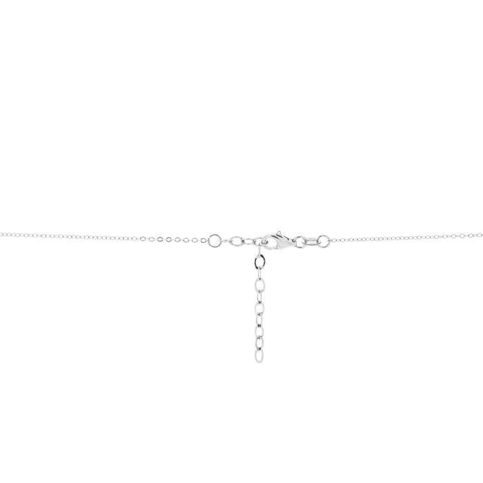 Collier CLEOR Argent 925/1000 Cristal - Taille : TU - Couleur : Autre