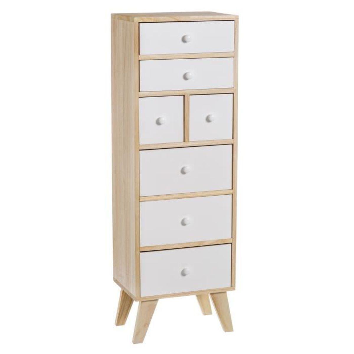 console meuble 7 tiroirs skandy collection casaseleccion