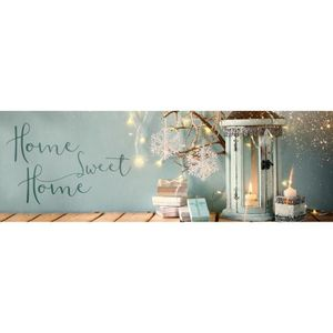 IMAGINE Toile Homme sweet home - 30X97