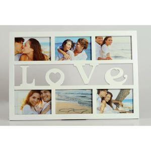 PÊLE-MÊLE PHOTO cadre photo multivues LOVE