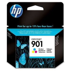 CARTOUCHE IMPRIMANTE HP Cartouche d'encre 901 - 360 pages - 1 Pack - Bl