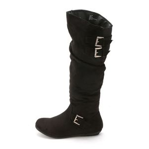 Rampage Womens Cyrene Round Toe Knee High Fabric Fashion Boots J93GQ Taille-37 mwBeLnKLZ