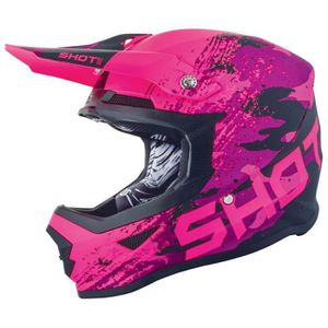 CASQUE MOTO SCOOTER Protections Casques Shot Furious Counter