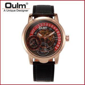 8306717d422e Oulm marque hotsale chinois pas cher montres véritable ceinture en ...