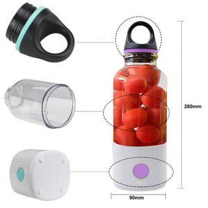 EXTRACTEUR DE JUS 600 ml Mitigeur multifonction portable Mini mélang
