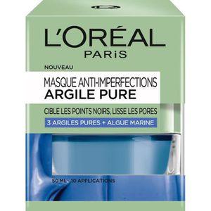 MASQUE VISAGE - PATCH L'ORÉAL PARIS Masque Visage Anti-imperfections Arg