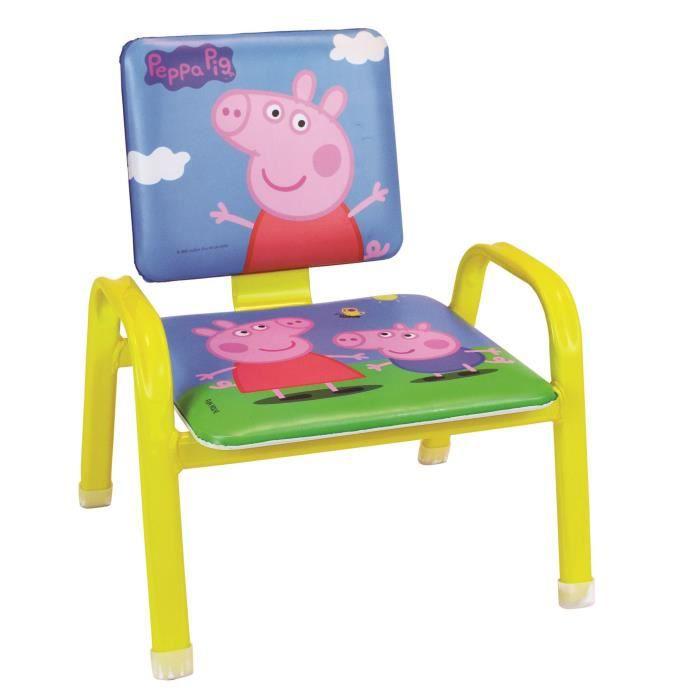 Fun House Peppa Pig mon premier fauteuil pour enfant