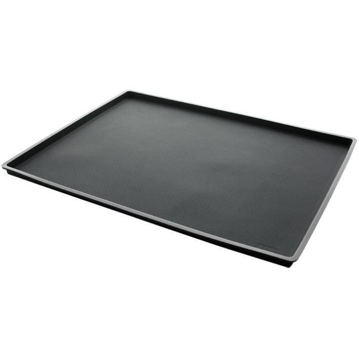 Tapis de cuisson anti-débordement 40x30 cm - silicone