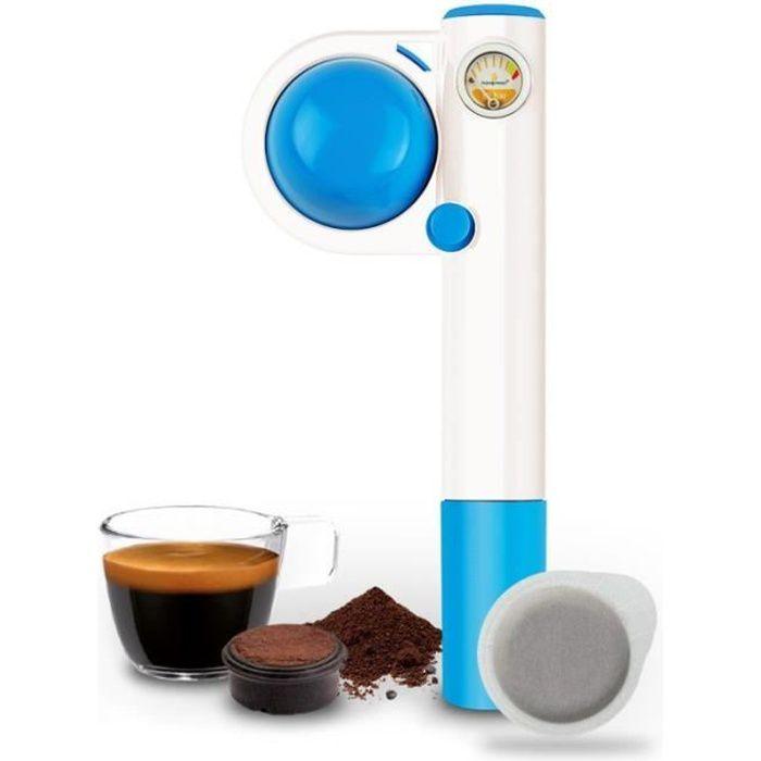 MACHINE À CAFÉ Handpresso Pump Pop bleue machine à café de voyage