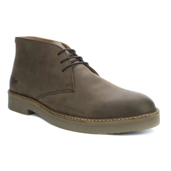 Achat Oxfly Boots Classiques Marron Kickers Hommes Vente aXqHad