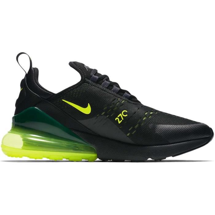 Nike Air Max 270 vert fluo Chaussures Baskets homme