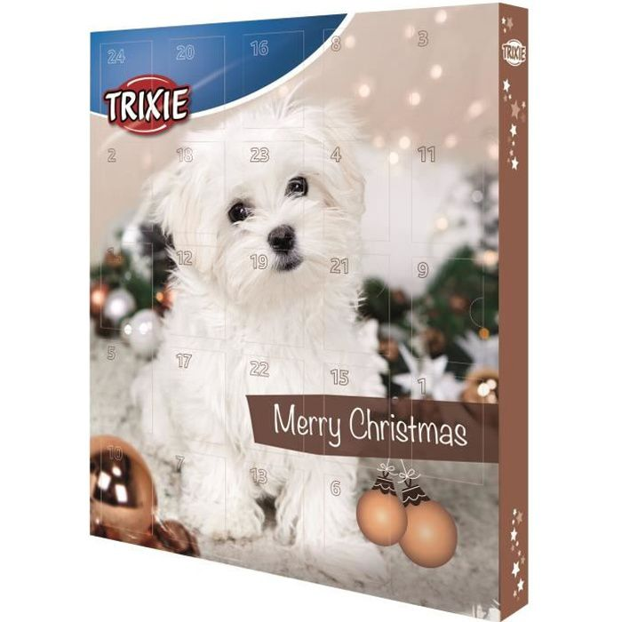 Trixie calendrier de l 39 avent marron pour chien achat - Calendrier de l avent pour chien ...