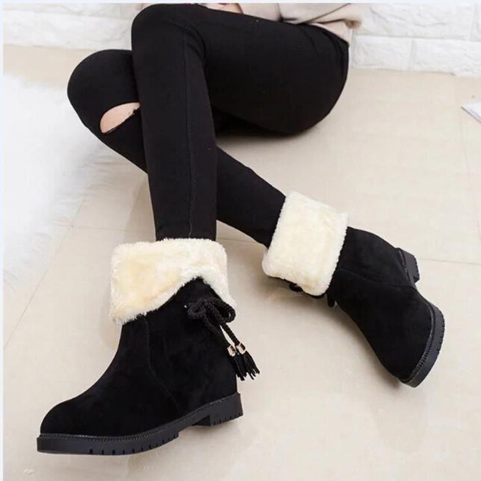 Bottes de neige Bottes de cheville d'hiver Chaussures de femme Chaussures Bottes d'hiver Chaussures de mode O2KBmm4G4